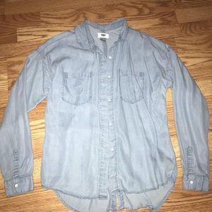 Denim Shirt Lightweight